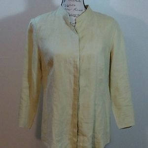 Carole Little Linen Shirt